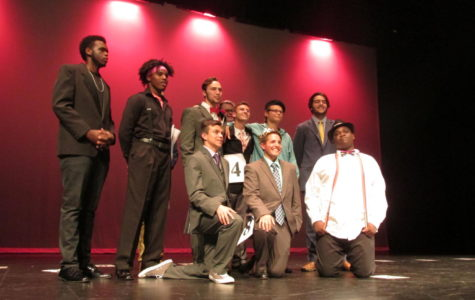 Mr. Homecoming Contestants
