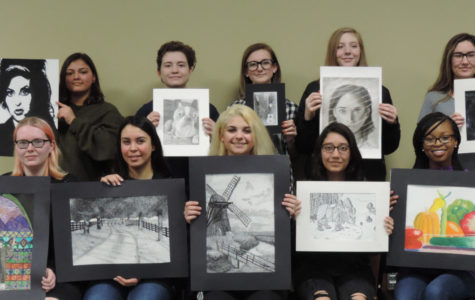 Winners in the Collinsville Woman's Club Art Contest Announced